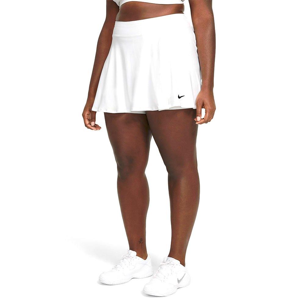 Nike Court Dri Fit Victory Flouncy Jupe L White / Black