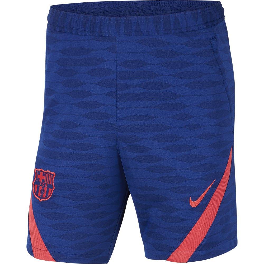 Nike Le Short Fc Barcelona Dri Fit Strike 20/21 XXL Deep Royal Blue / Light Fusion Red