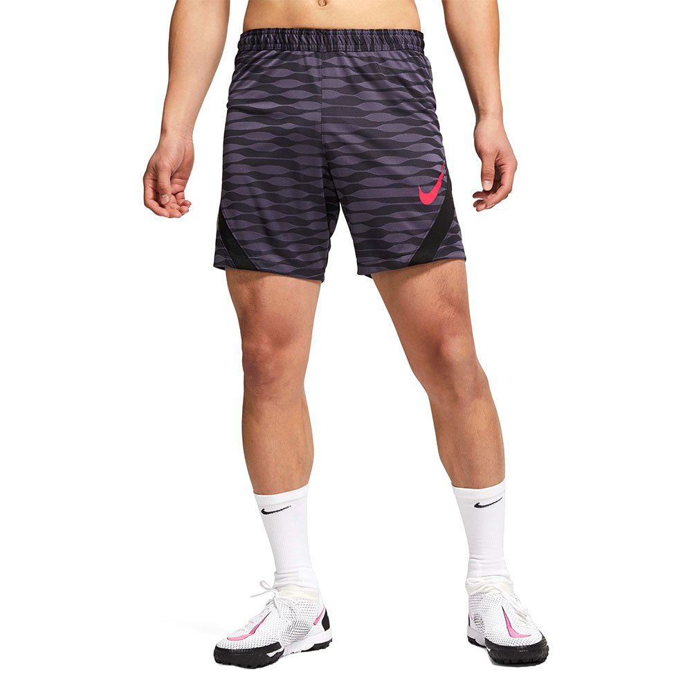 Nike Short Dri Fit Strike Knit XL Black / Dark Raisin / Black / Siren Red