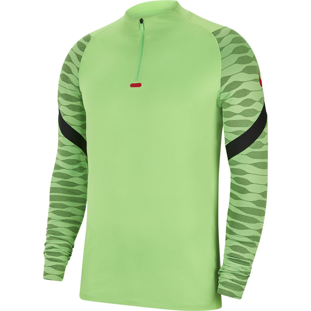 Nike Dri Fit Strike Drill L Green Strike / Black / Black / Siren Red