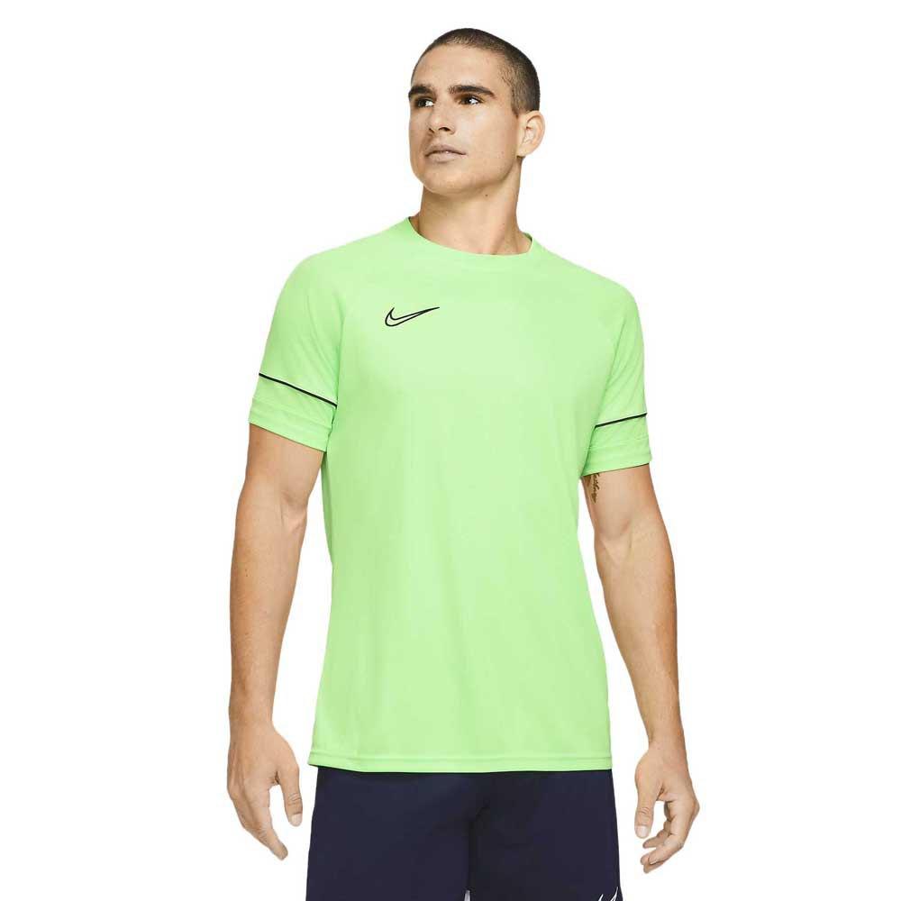 Nike Dri Fit Academy Short Sleeve T-shirt L Green Strike / Black / Green Strike / Black
