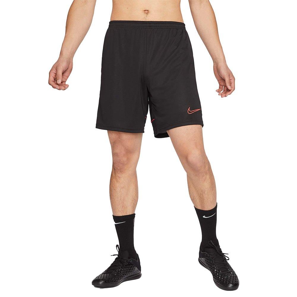 Nike Short Dri Fit Academy Knit L Black / Siren Red / Black / Siren Red