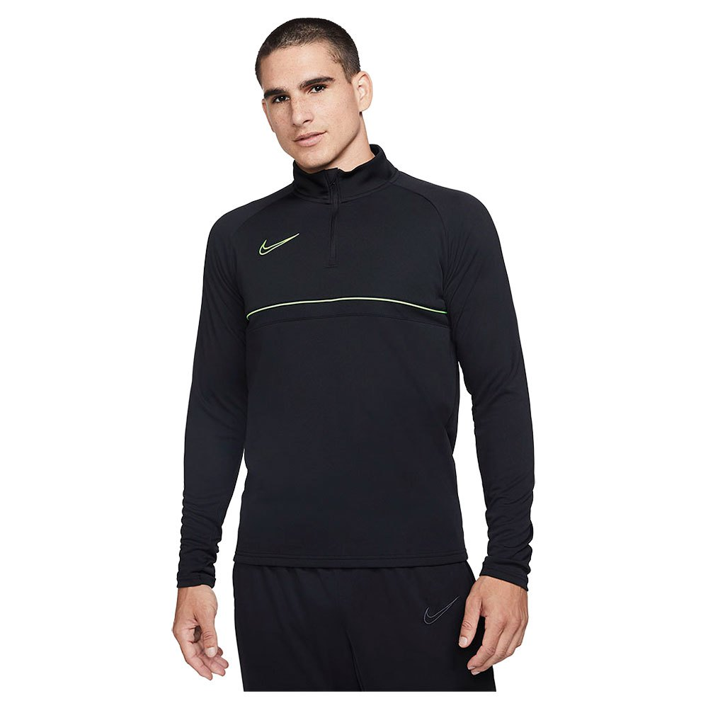 Nike Dri Fiacademy Drill Long Sleeve T-shirt L Black / Green Strike / Black / Green Strike
