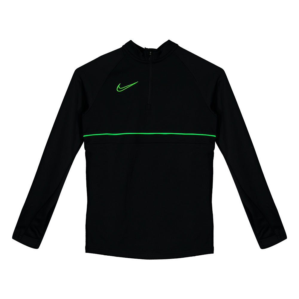 Nike Dri-fit Academy Drill L Black / Green Strike / Black / Green Strike