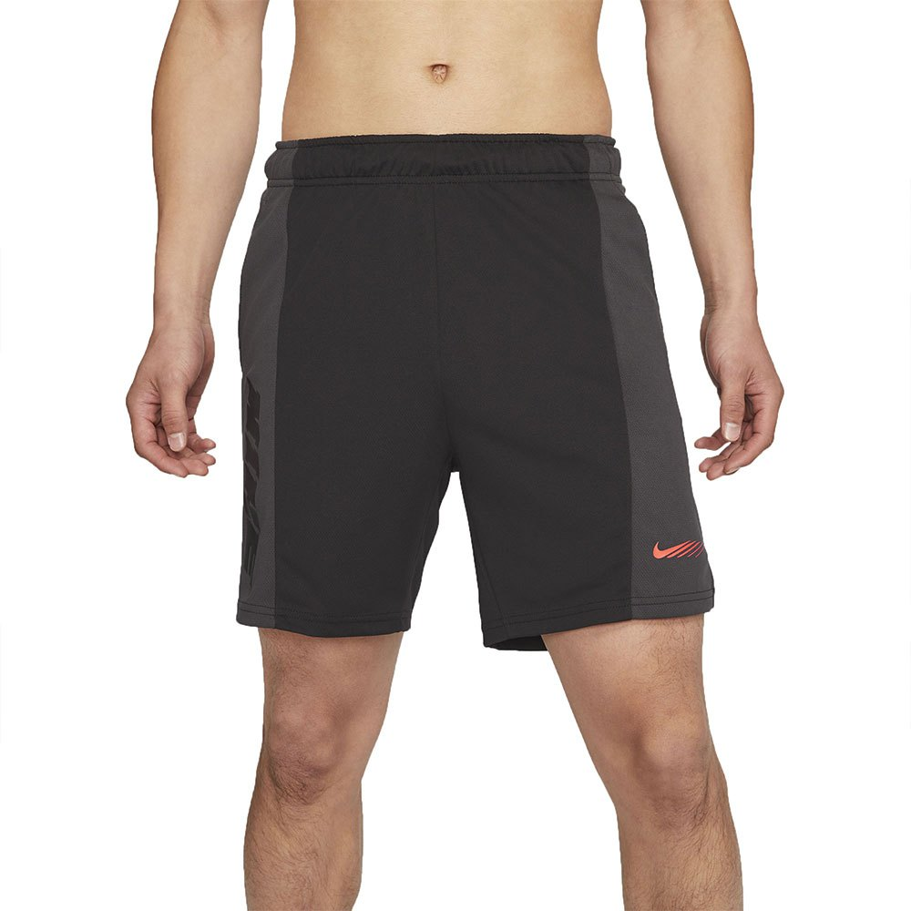 Nike Short Dri-fit Sport Clash Energy L Black / Bright Crimson