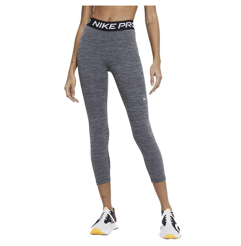 Nike Pro 365 Cropped XS Black / Heather / White