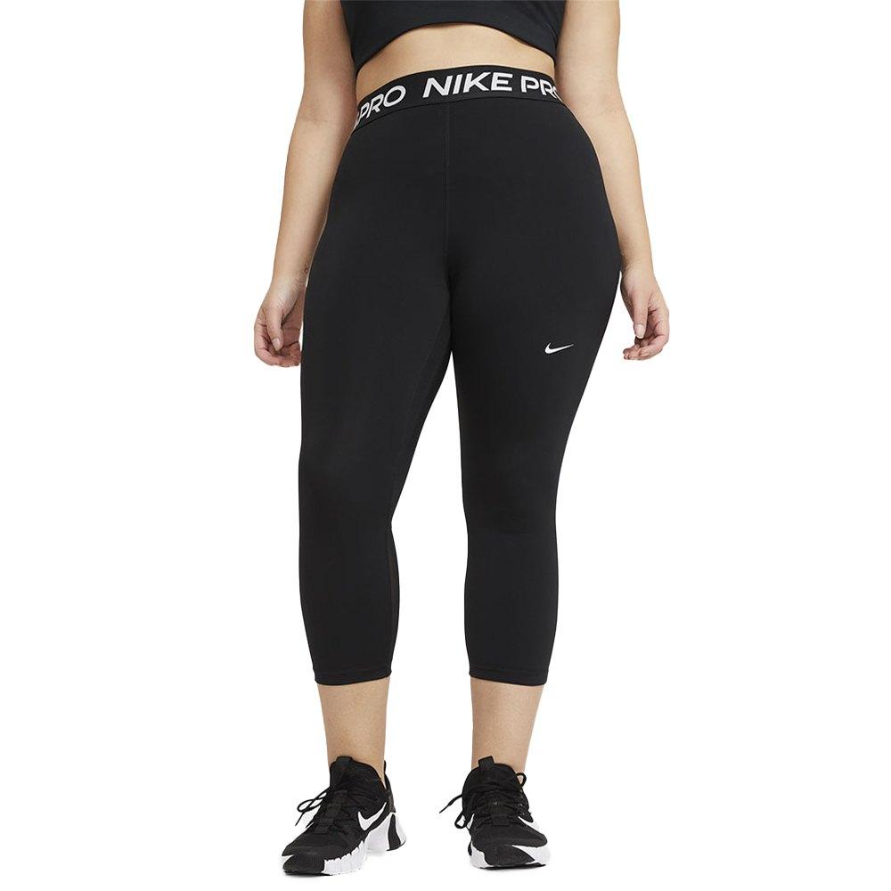 Nike Pro 365 Cropped L Black / White