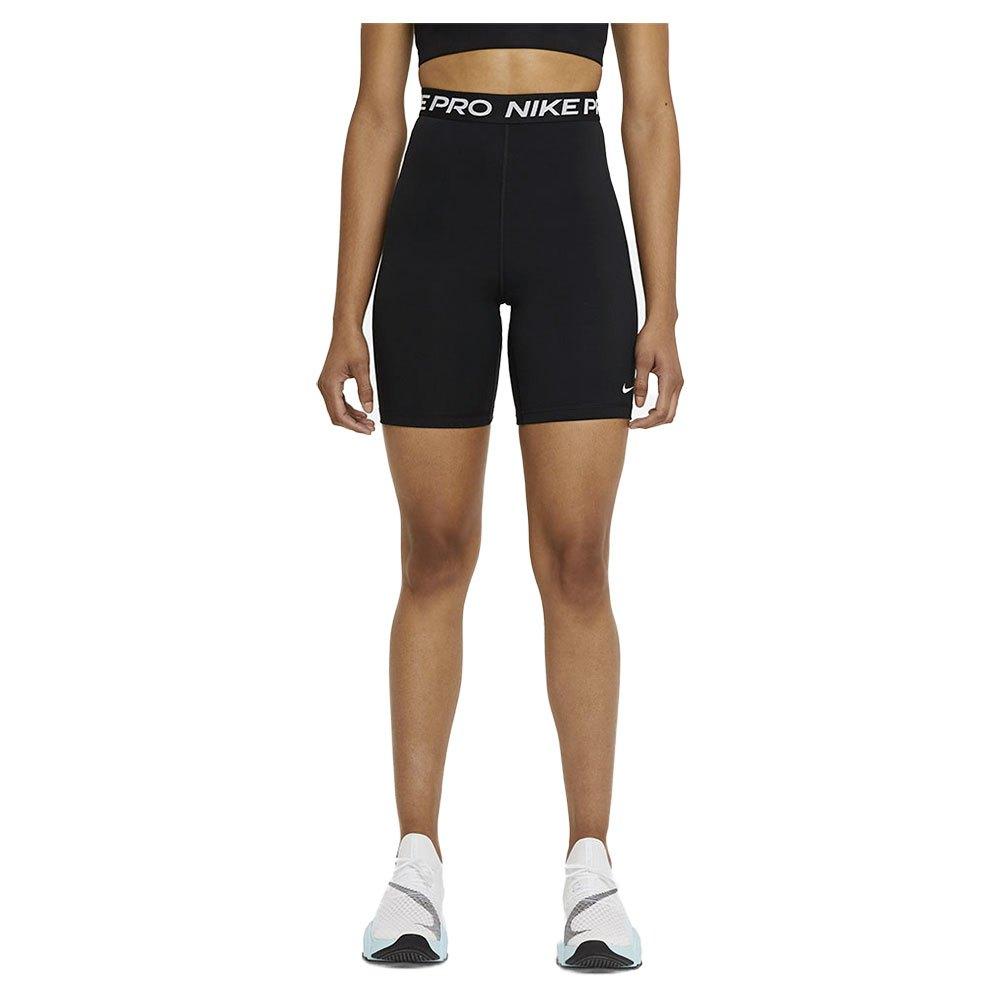 Nike Legging Courte Pro 365 Taille Haute 7´´ L Black / White