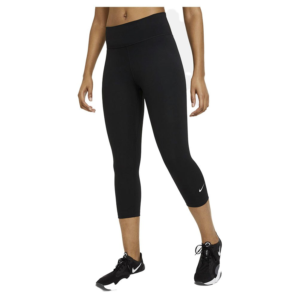 Nike One Dri Fit Taille Moyenne XXL Black / White