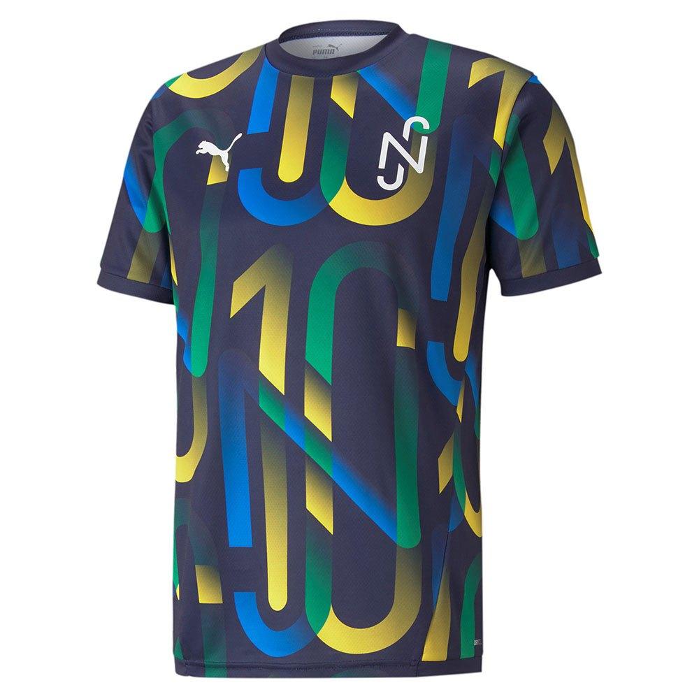 Puma Neymar Junior Future T-shirt Manche Longue L Peacoat / Dandelion