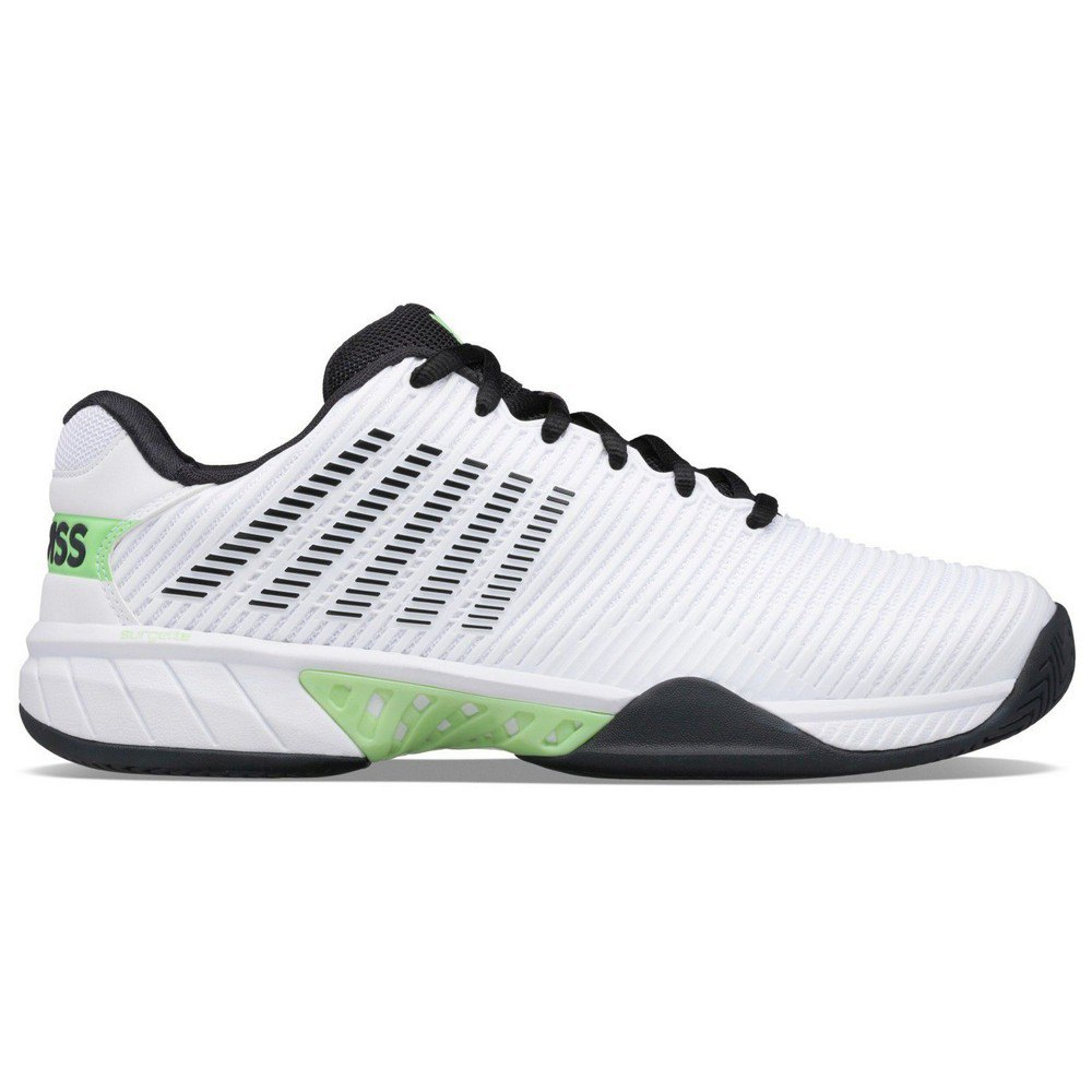 K-swiss Hypercourt Express 2 EU 44 White / Blue Graphite / Soft Neon Green
