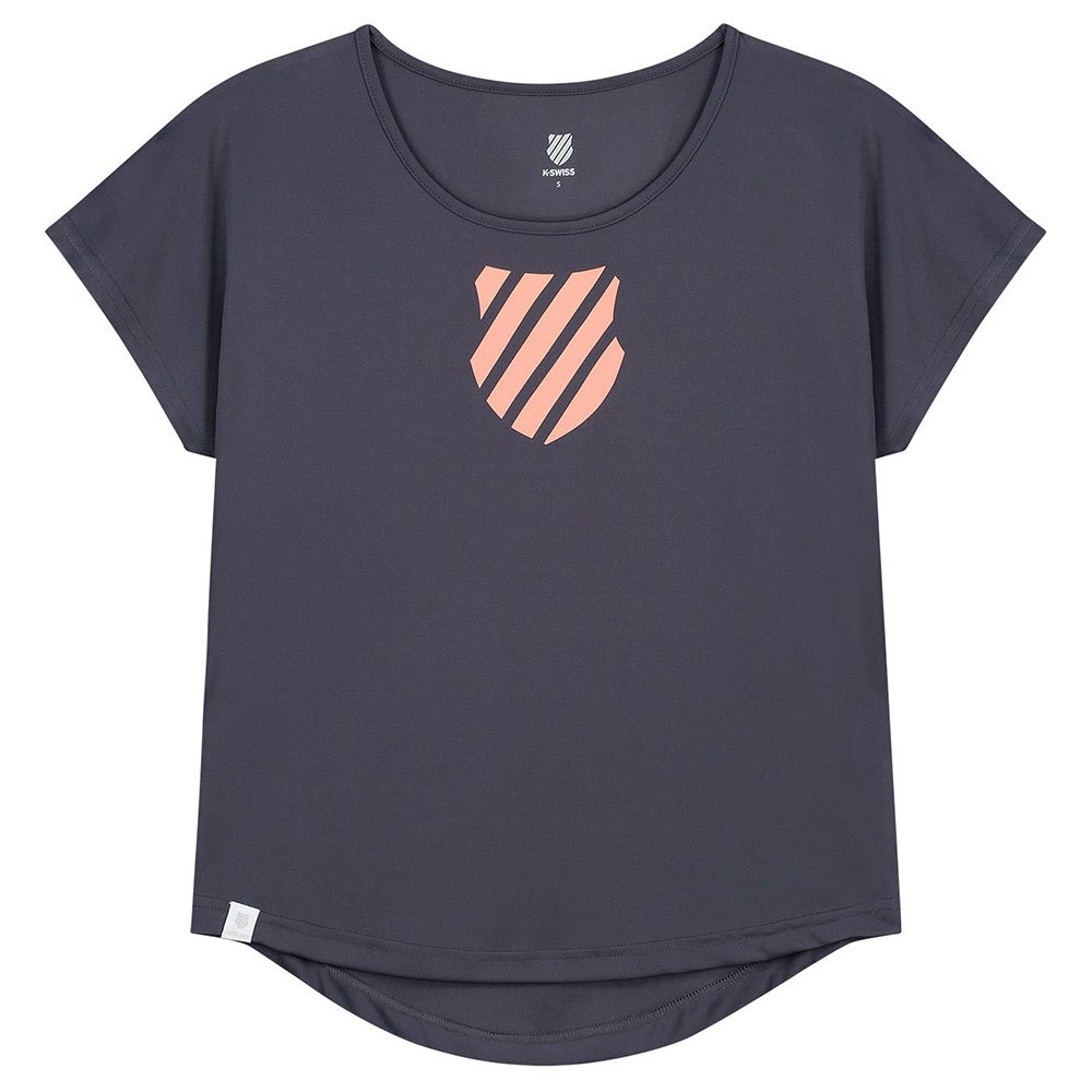 K-swiss T-shirt Manche Courte Hypercourt Game S Greystone