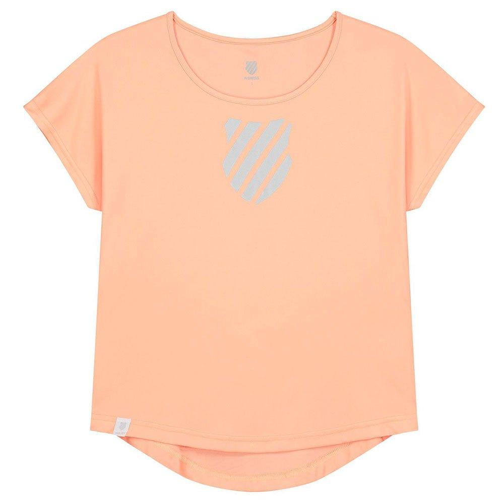 K-swiss T-shirt Manche Courte Hypercourt Game S Peach