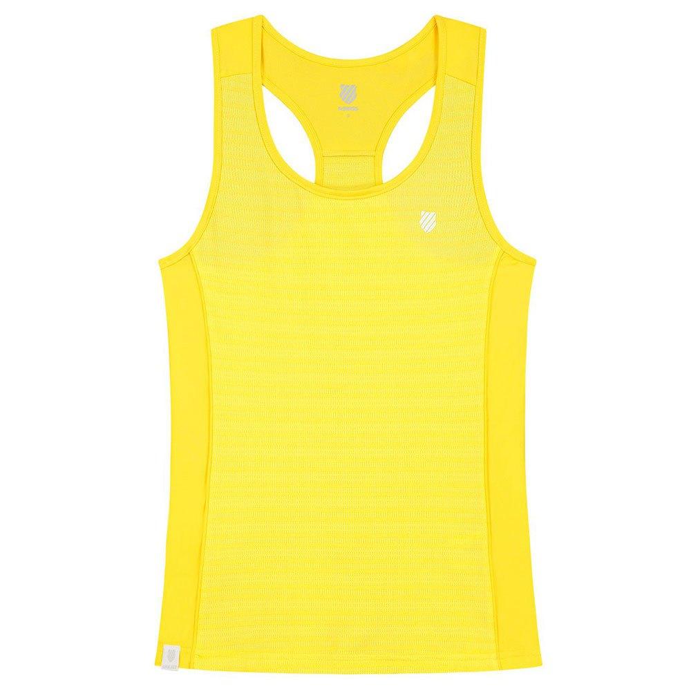 K-swiss T-shirt Sans Manches Hypercourt Advantage S Yellow