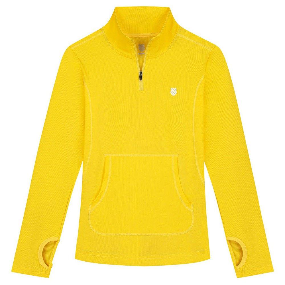 K-swiss Hypercouradvantage T-shirt Manche Longue S Yellow