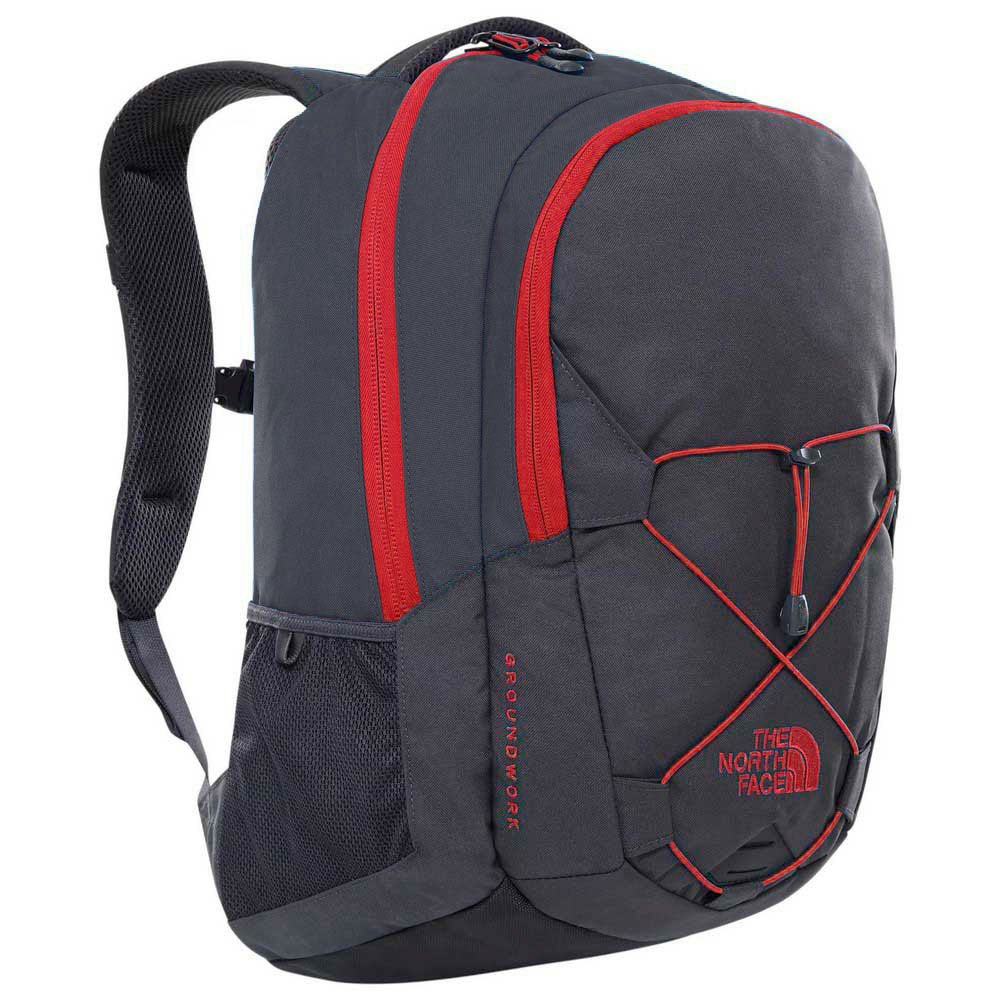The North Face Groundwork One Size TNF Dark Grey Heather / Cardinal Red