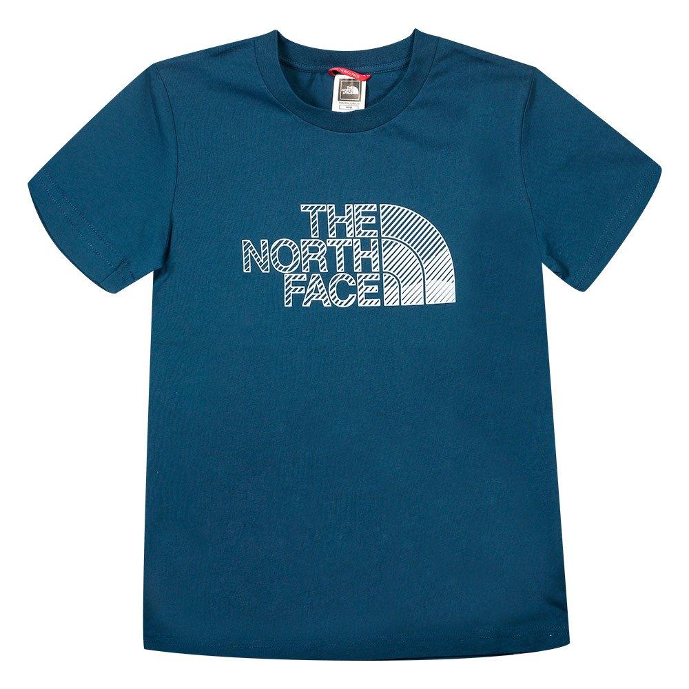 The North Face T-shirt Manche Courte Biner Graphic 1 M Monterey Blue