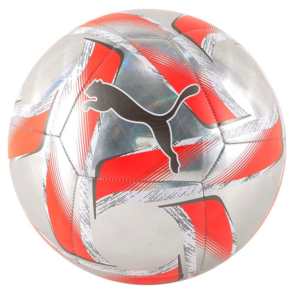 Puma Ballon Football Spin 5 Red Blast / Puma White / Puma Aged Silver
