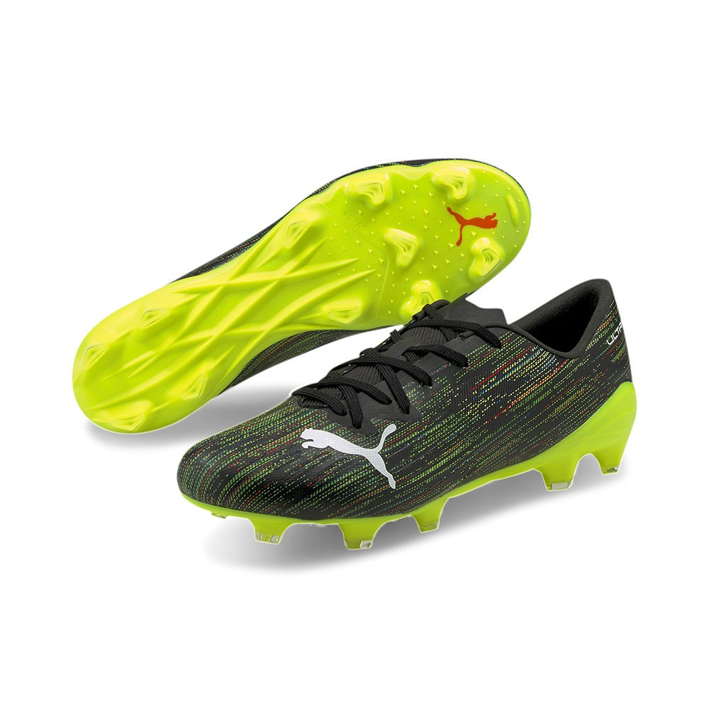 Puma Ultra 2.2 Fg/ag EU 45 Puma Black / Puma White / Yellow Alert