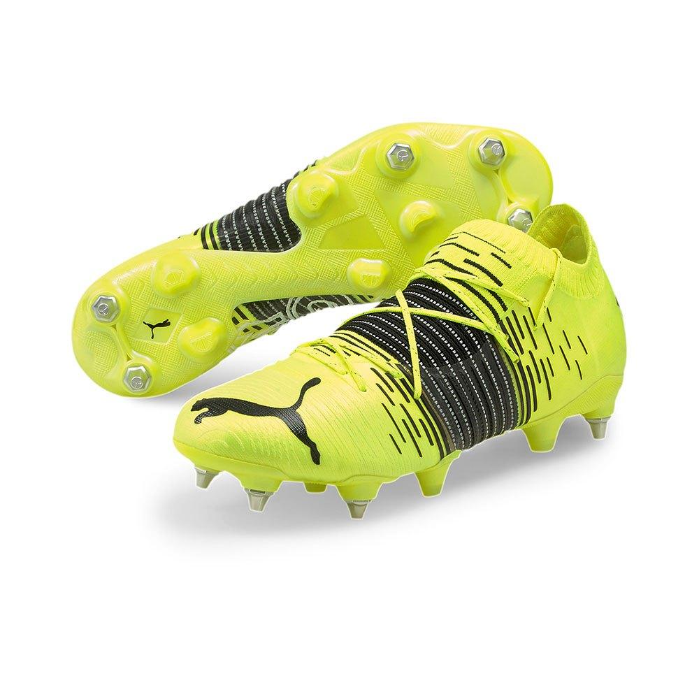 Puma Chaussures Football Future Z 1.1 Mix Sg EU 45 Yellow Alert / Puma Black / Puma White