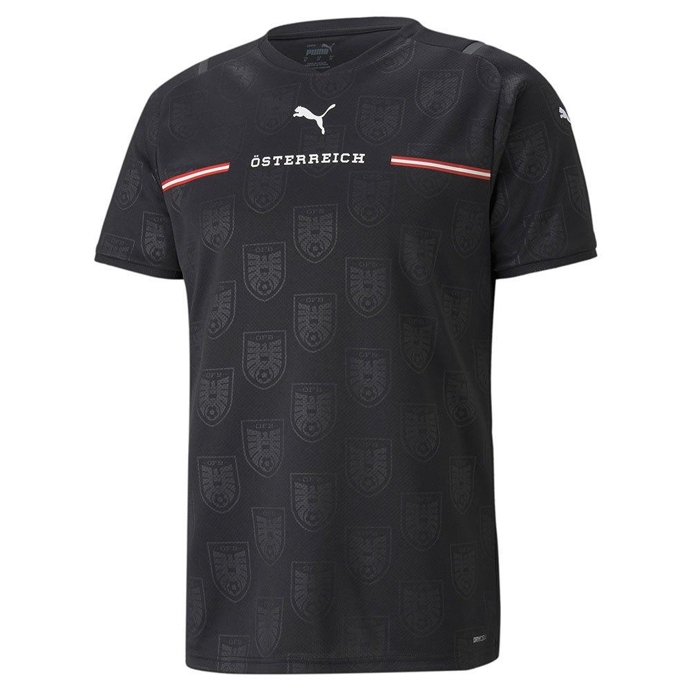 Puma T-shirt Autriche Extérieur Replica 2021 L Puma Black