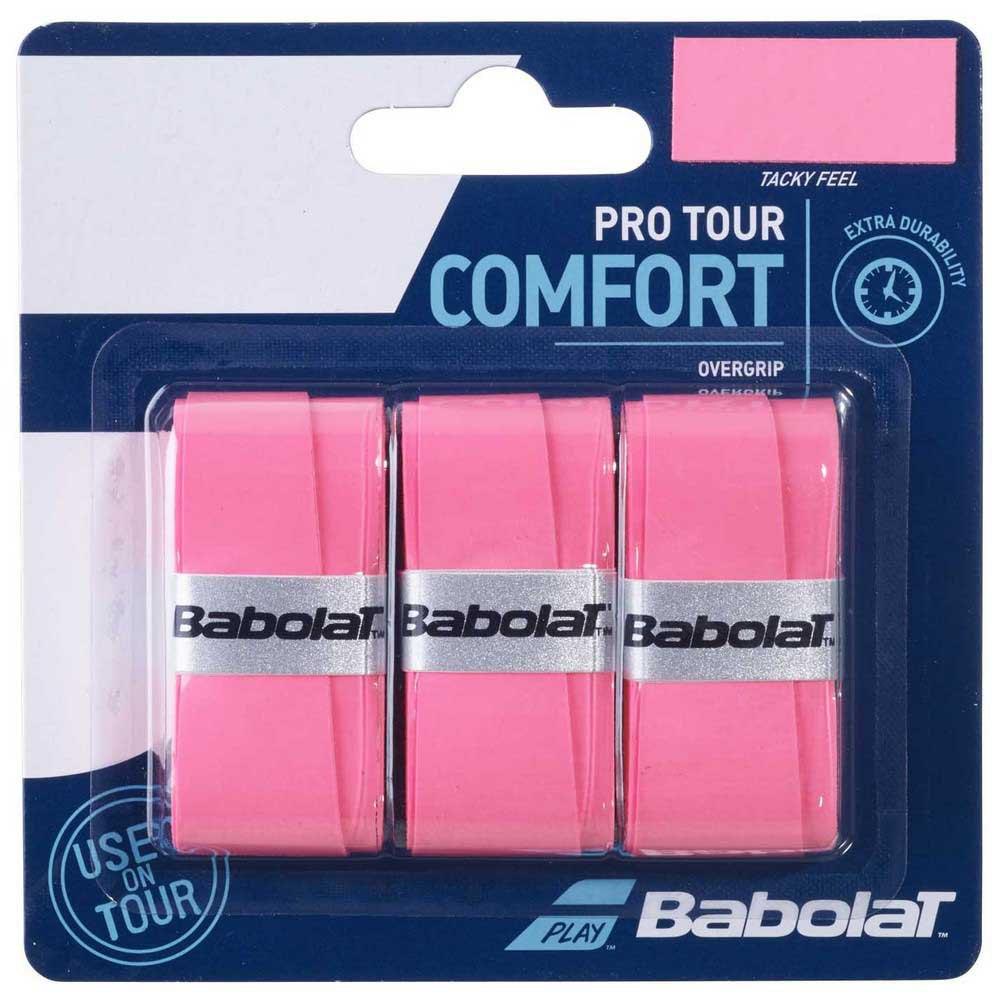 Babolat Pro Tour Comfort 3 Units One Size Pink