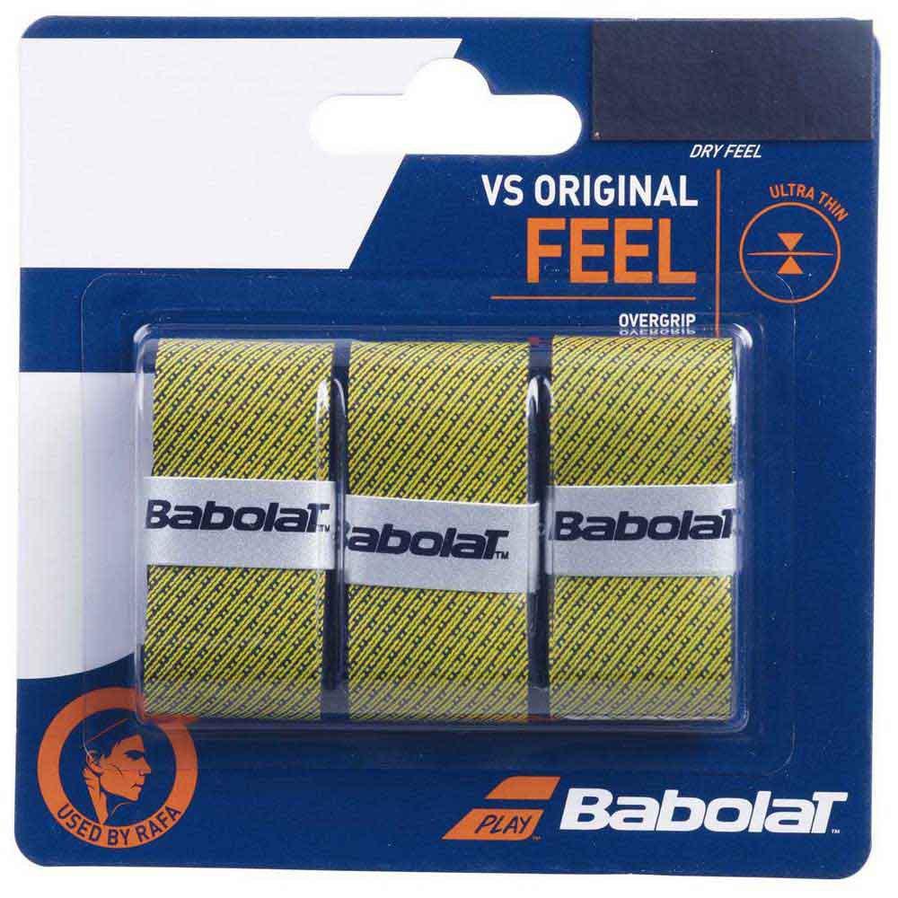 Babolat Vs Original Feel 3 Units One Size Black / Yellow