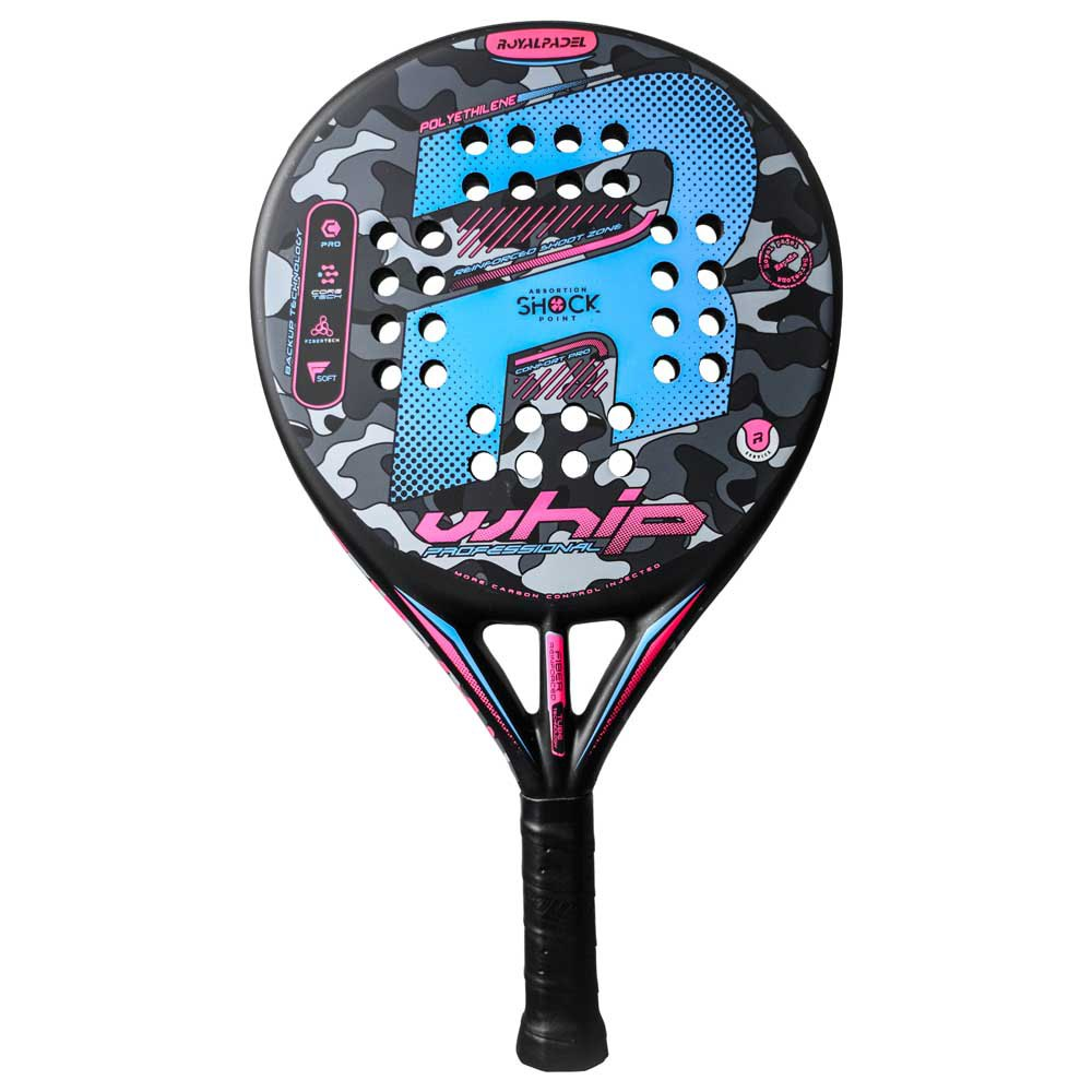 Royal Padel Rp 790 Whip Woman One Size Black / Pink