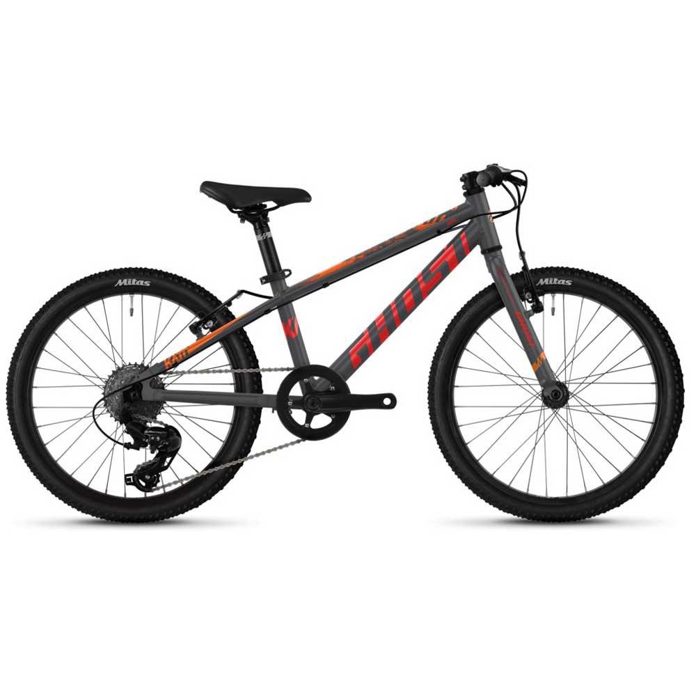 Ghost Bikes Kato Base 20 One Size Dark Silver / Red / Riot Blue