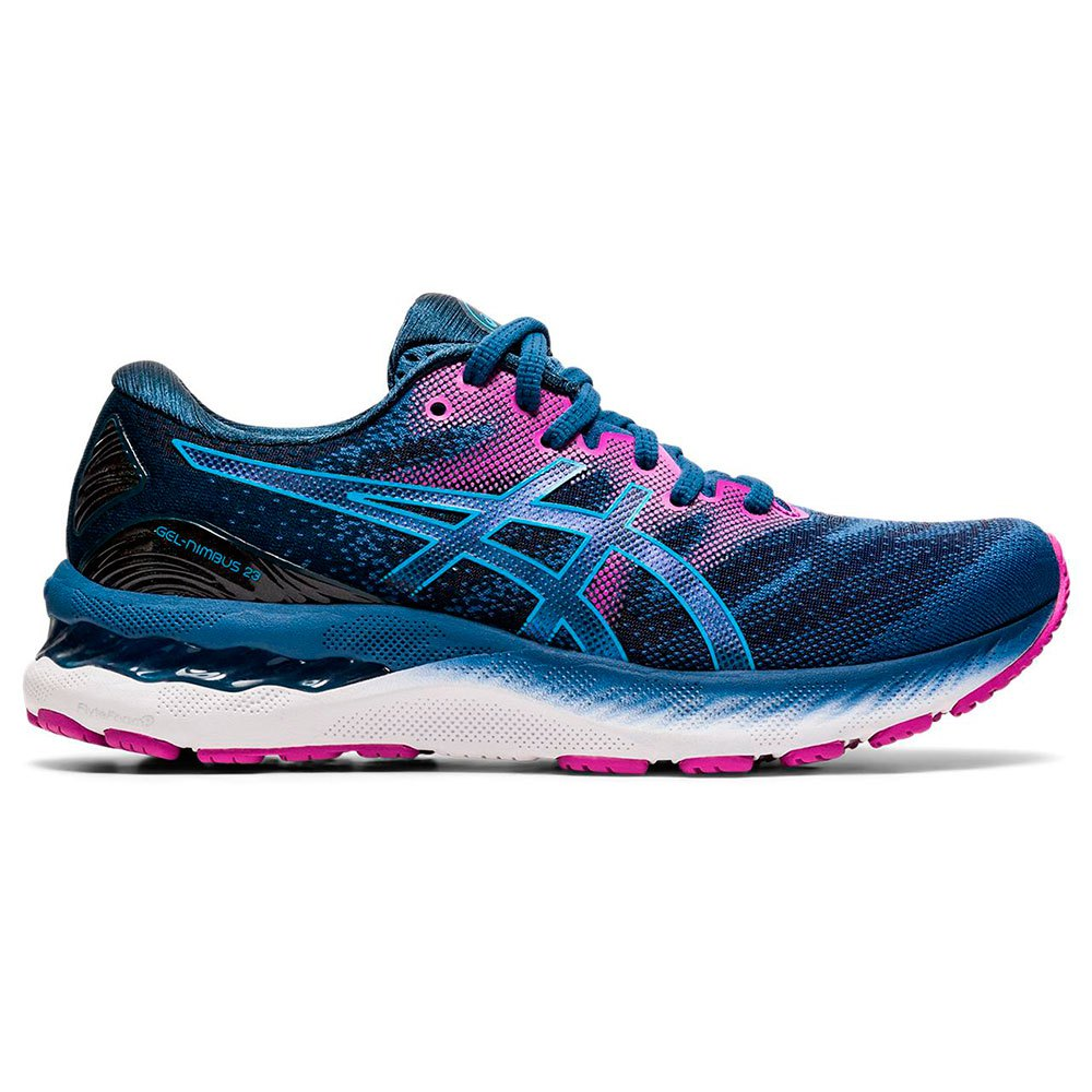 Asics Gel Nimbus 23 Wide EU 43 1/2 Grand Shark / Digital Aqua