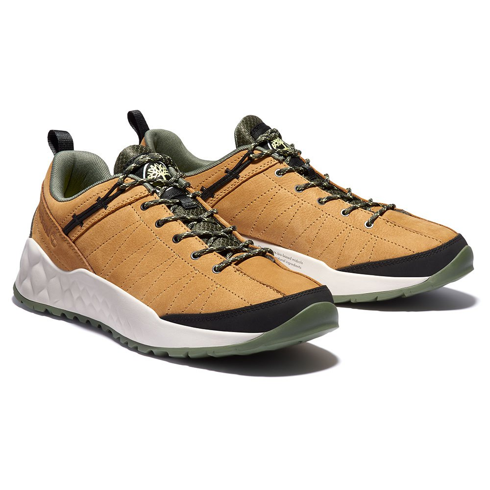 Timberland Solar Wave Low Leather Hiking Shoes EU 40 Wheat
