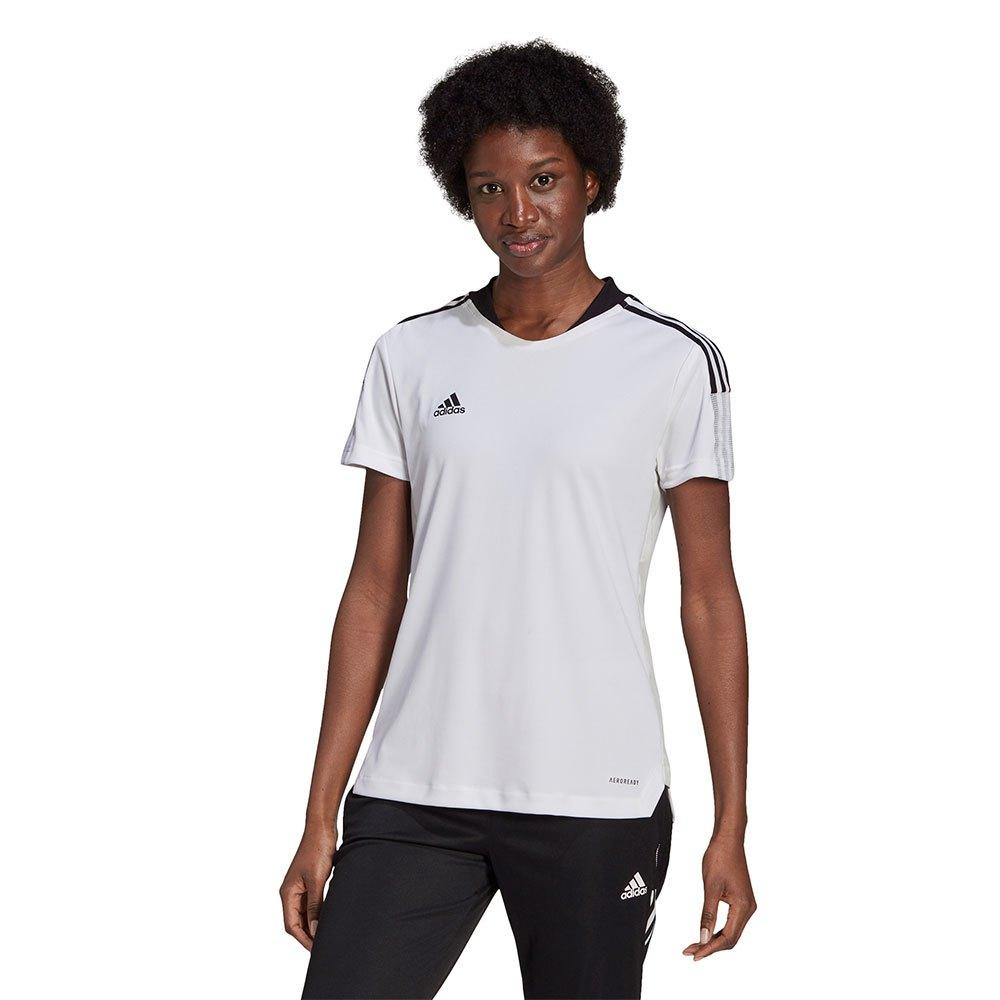Adidas T-shirt Manche Courte Tiro 21 Training XXS White