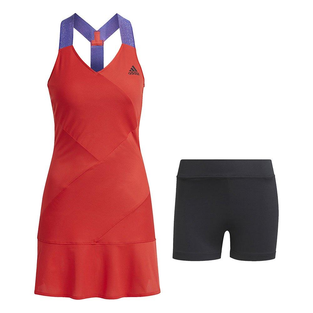 Adidas Robe Tennis Primeblue Y XS Scarlet / Black