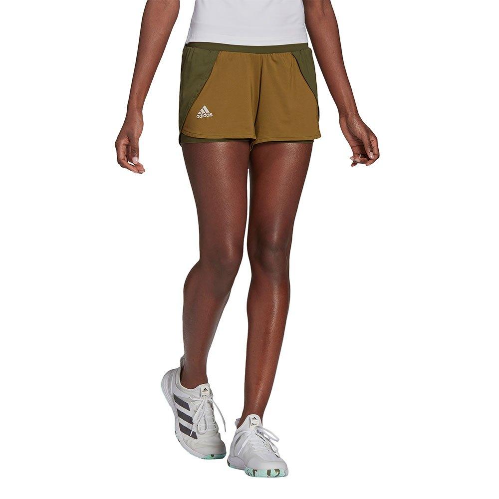 Adidas Short Match XS Wild Pine / Alumina / Wild Moss
