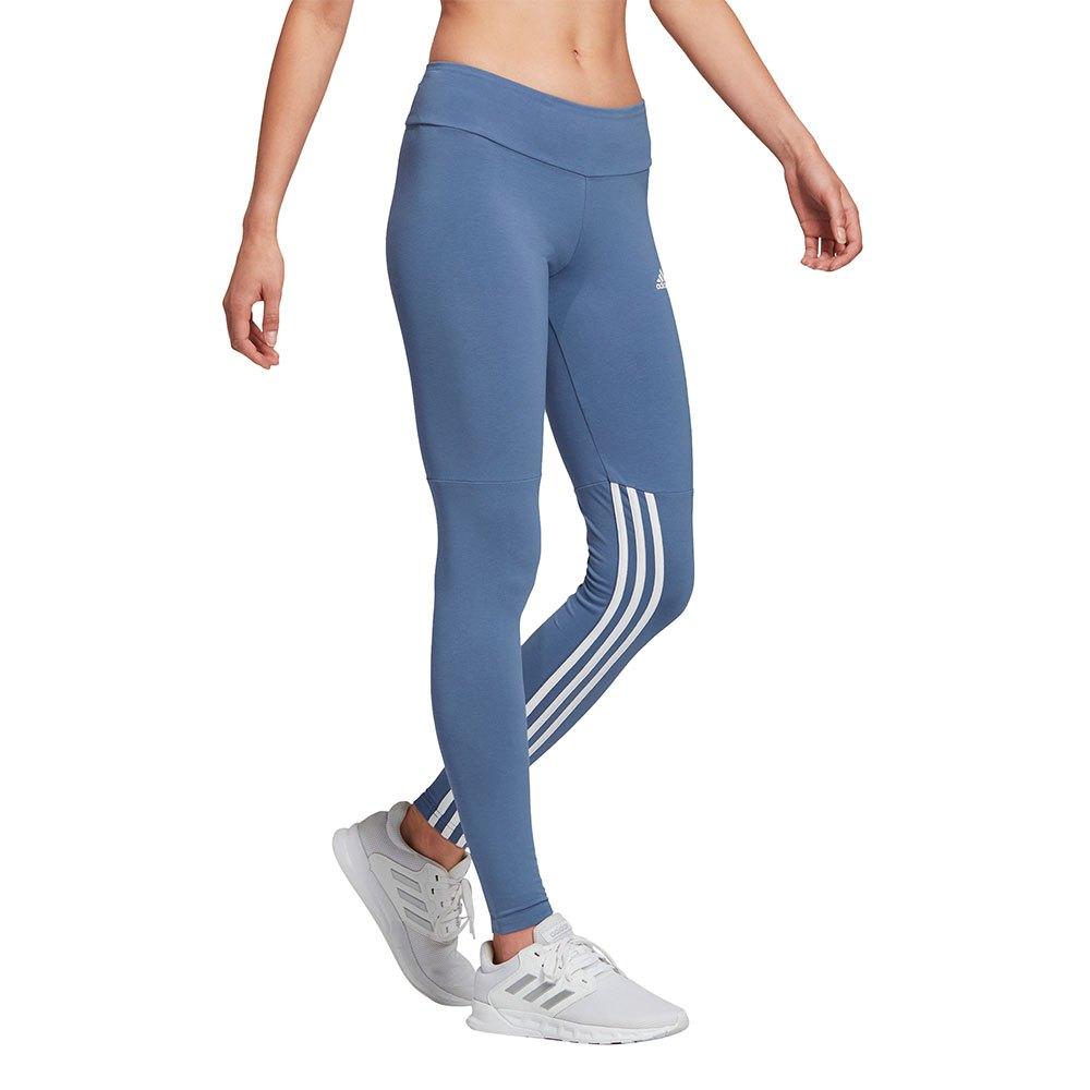 Adidas Essentials 3 Stripes S Crew Blue