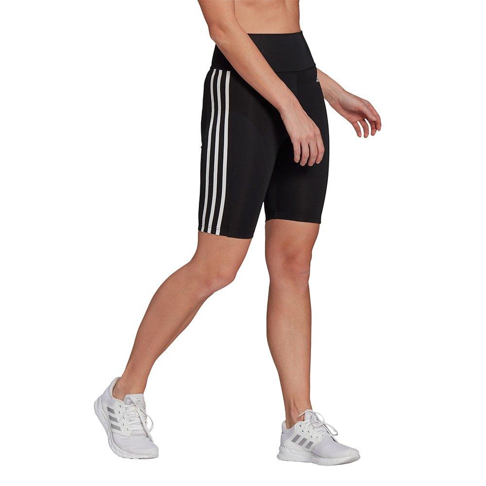 Adidas Mallas Cortas Designed 2 Move Cintura Alta M Black / White