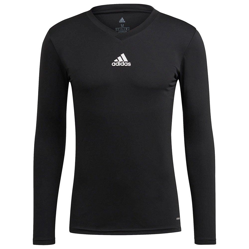 Adidas Team Base T-shirt Manche Longue XS Black