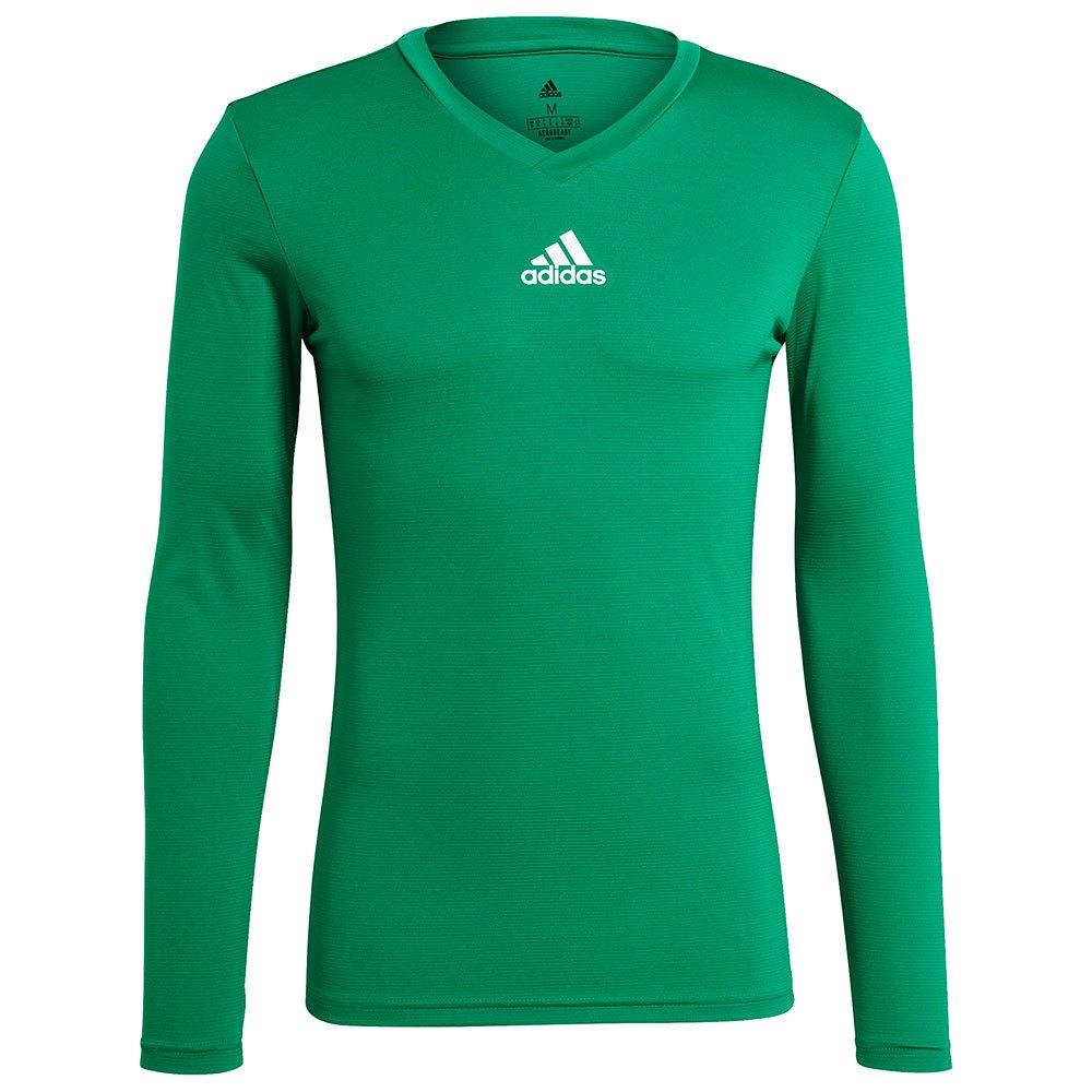 Adidas Team Base T-shirt Manche Longue L Team Green