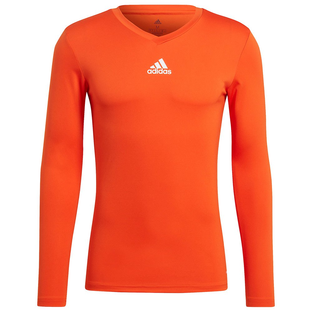 Adidas Team Base T-shirt Manche Longue L Team Orange