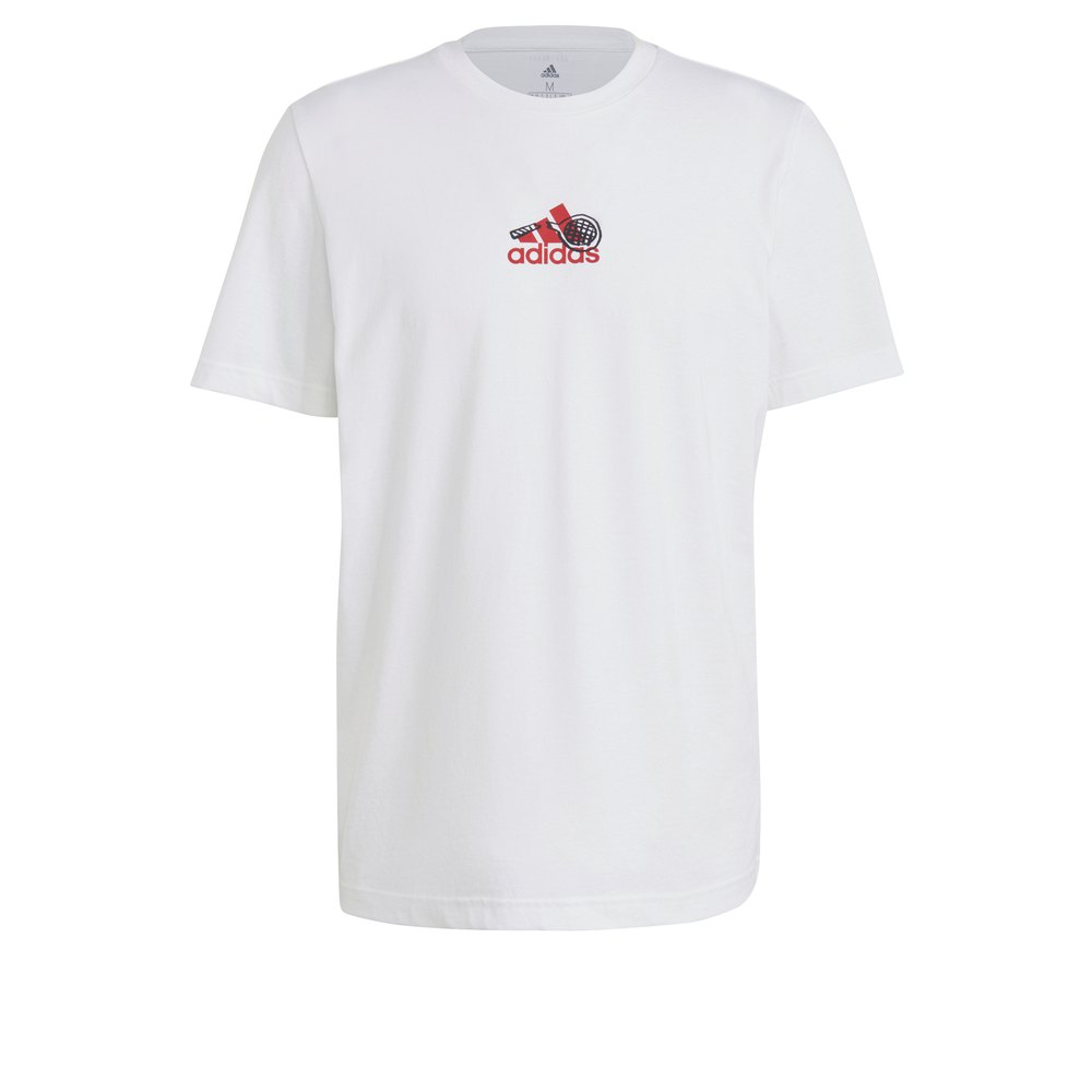 Adidas Tennis Graphic XL White