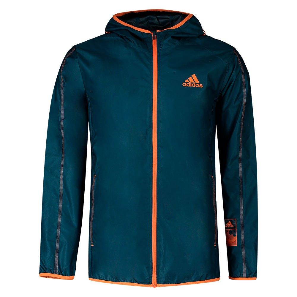 Adidas Chaqueta Comprimible Sportphoria Aeroready M Wild Teal / True Orange