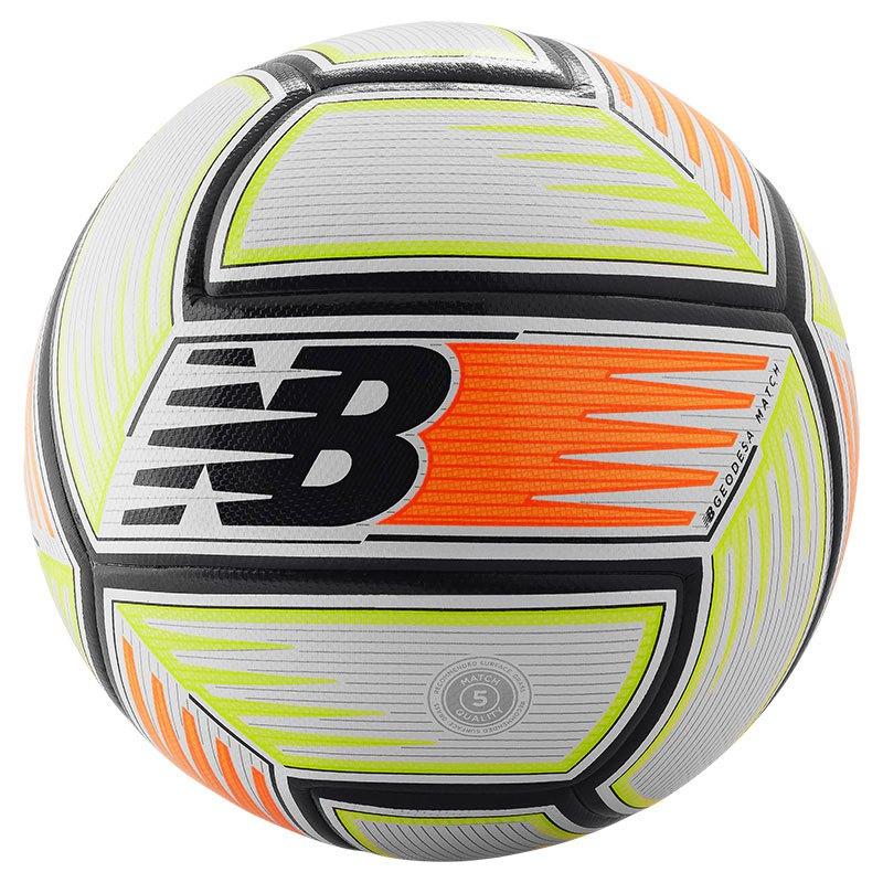 New Balance Ballon Football Geodesa Match 5 White / Citrus Punch