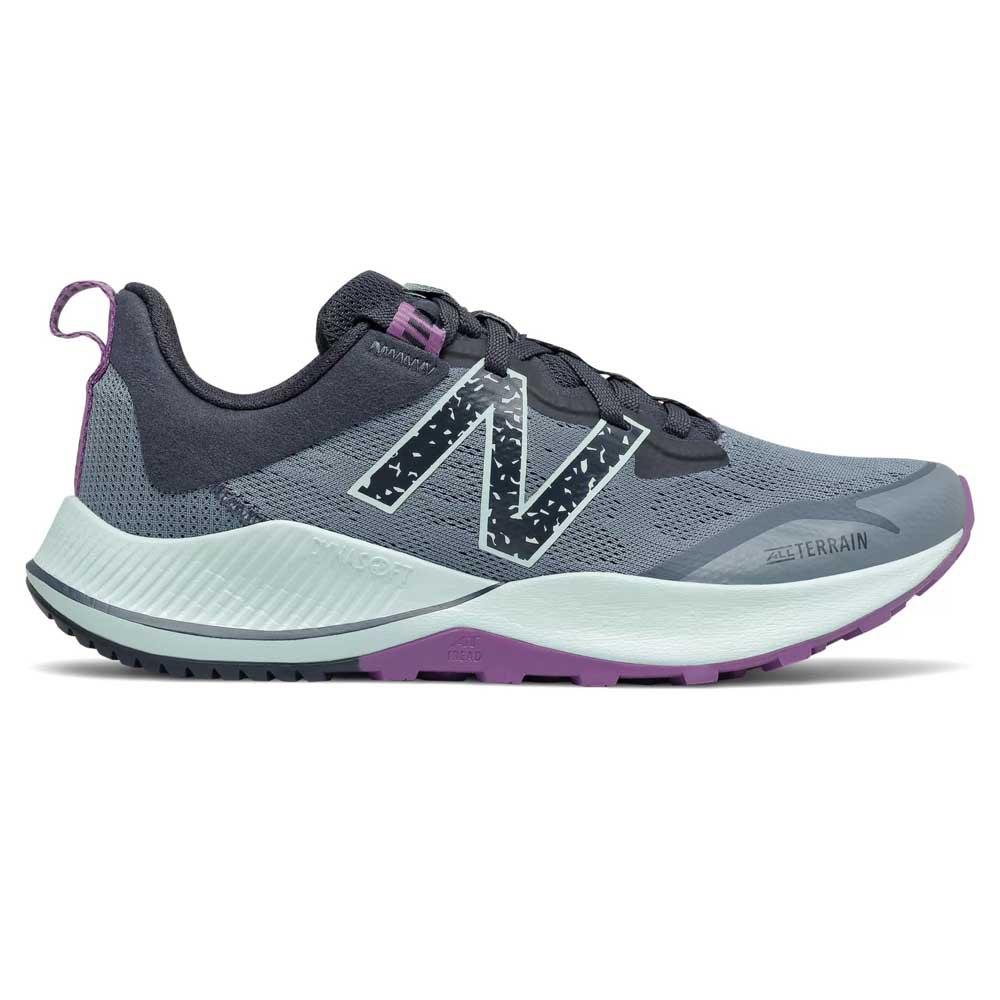 New Balance Scarpe Trail Running Nitrel V4 EU 35 Silver Pine