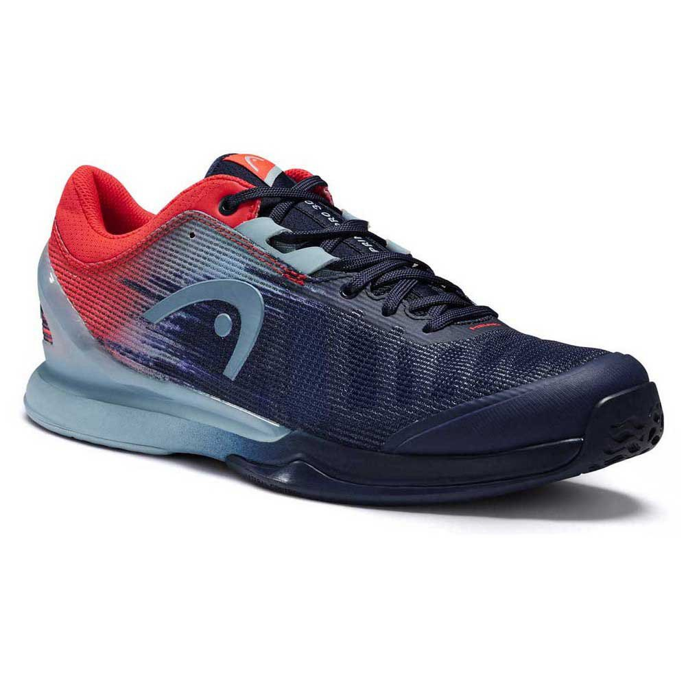 Head Racket Sprint Pro 3.0 EU 44 Dark Blue / Neon Red