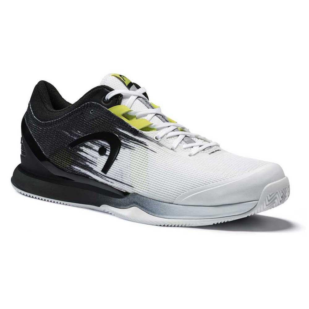 Head Racket Sprint Pro 3.0 Clay EU 44 White / Raven