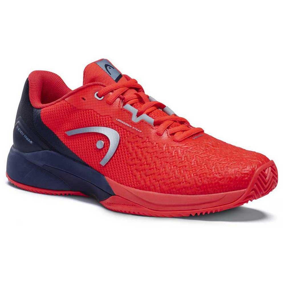 Head Racket Chaussures Terre Battue Revolt Pro 3.5 EU 40 Neon Red / Dress Blue