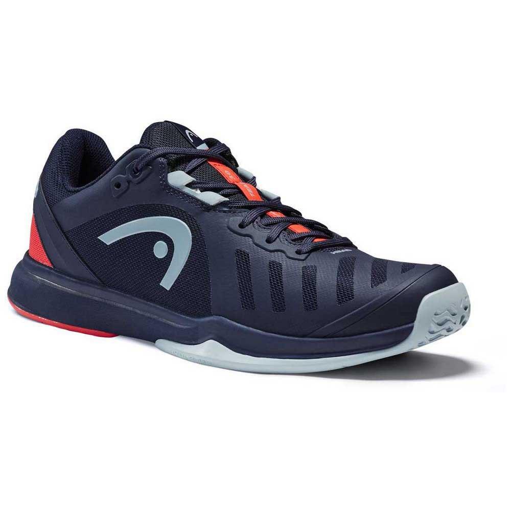 Head Racket Sprint Team 3.0 Hard Court EU 42 1/2 Dress Blue / Neon Red