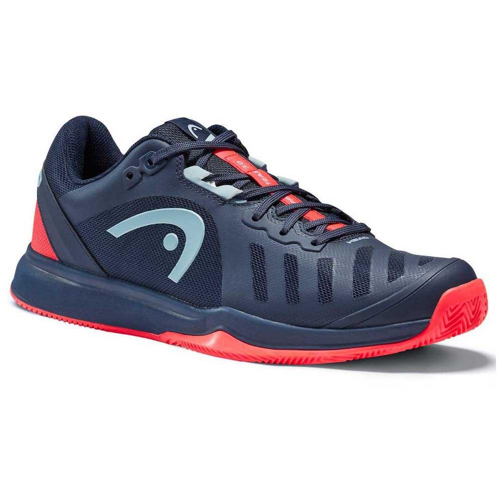 Head Racket Sprint Team 3.0 Clay EU 48 1/2 Dress Blue / Neon Red