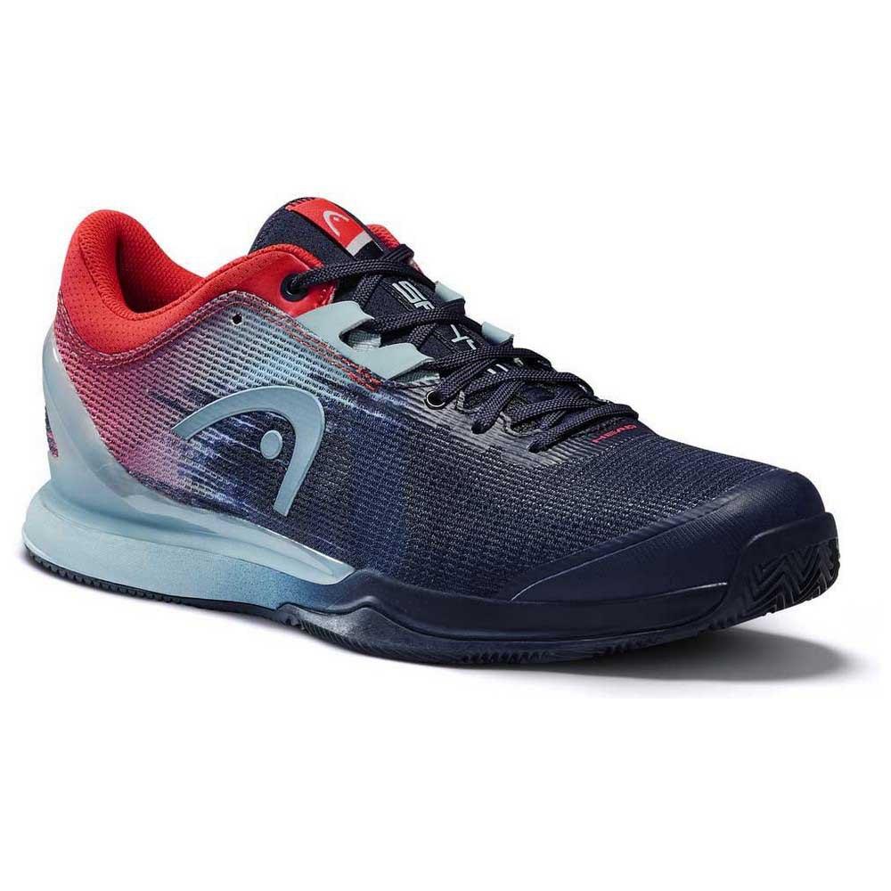 Head Racket Sprint Pro 3.0 Sanyo EU 44 Dress Blue / Neon Red
