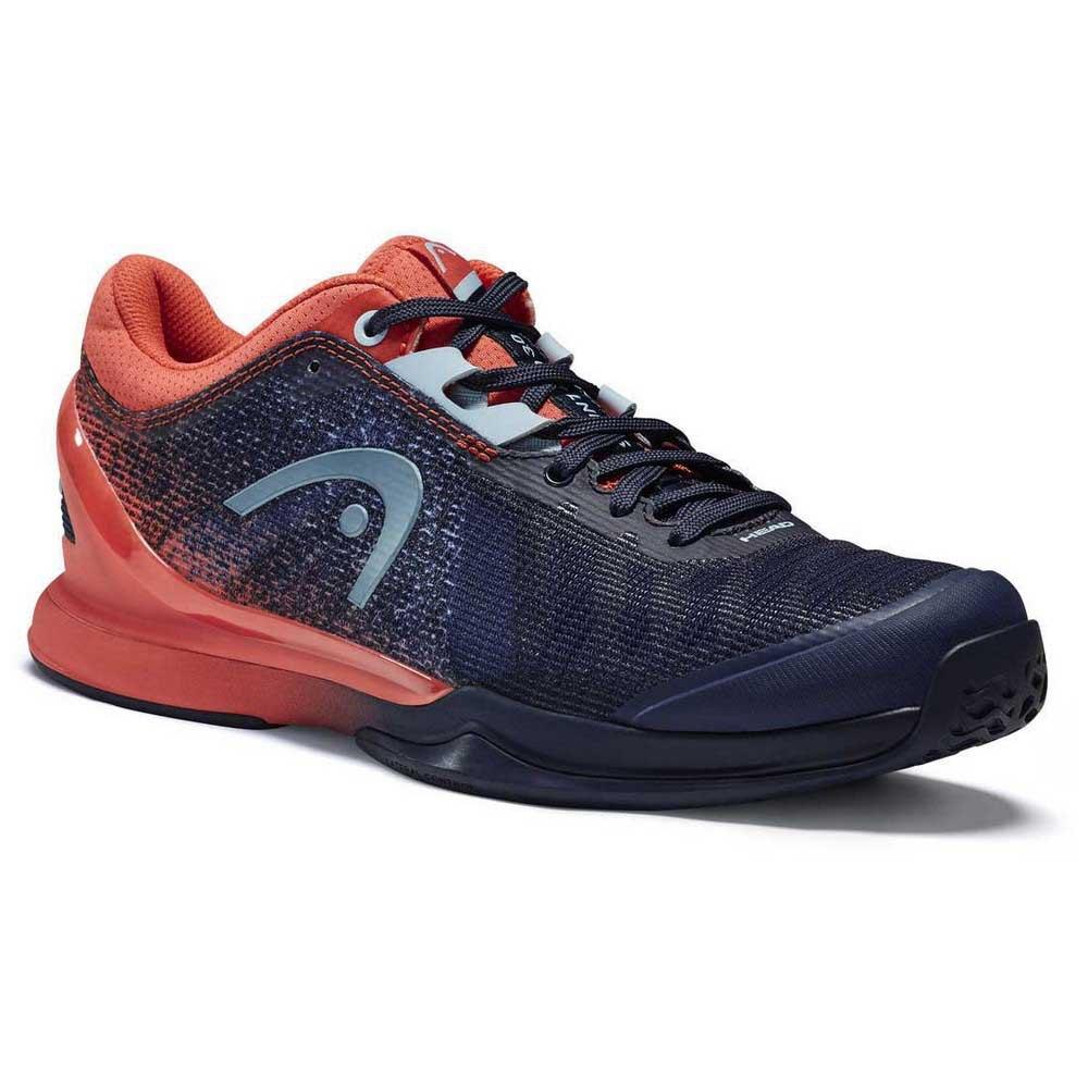 Head Racket Sprint Pro 3.0 EU 36 Dress Blue / Coral